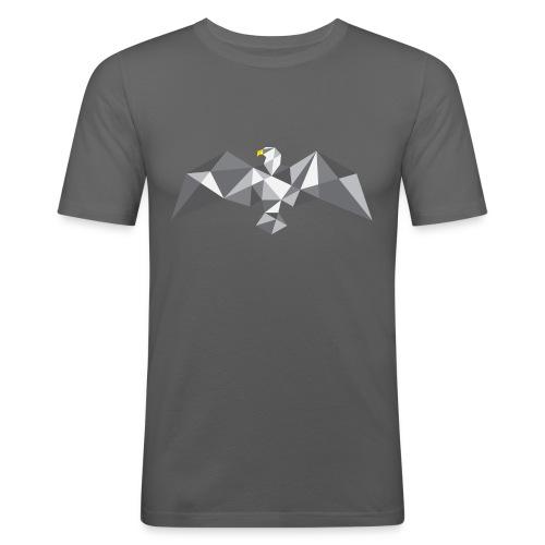 Eagle - a Cubist approach - Men's Slim Fit T-Shirt