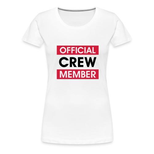 Official Crew Member Tee - Women's Premium T-Shirt