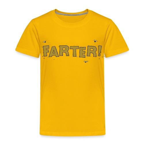 Kids Funny Farter T-shirt - Kids' Premium T-Shirt