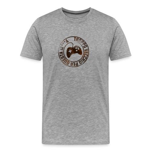 Troppo Vecchio Per Questa M***a Scuro - Maglietta Premium da uomo