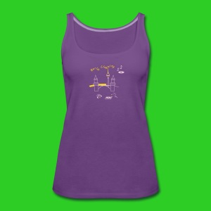 BerlinClubbing - Frauen Premium Tank Top