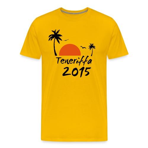 Teneriffa 2015 T-Shirt - Männer Premium T-Shirt