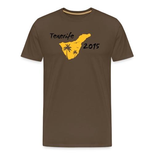 Tenerife 2015 T-Shirt - Männer Premium T-Shirt