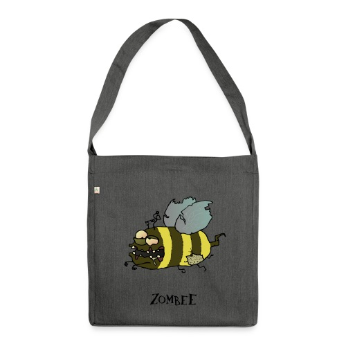 Zombee - Schultertasche aus Recycling-Material