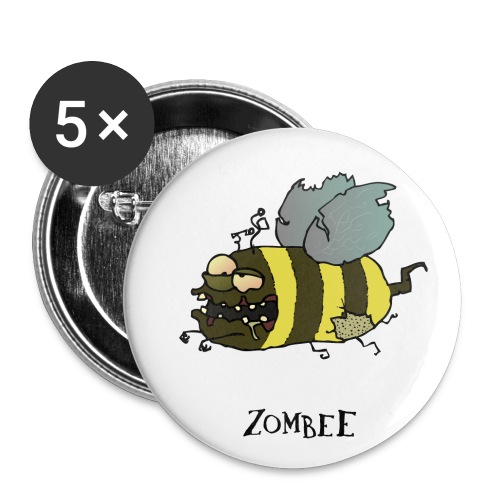 Zombee - Buttons mittel 32 mm