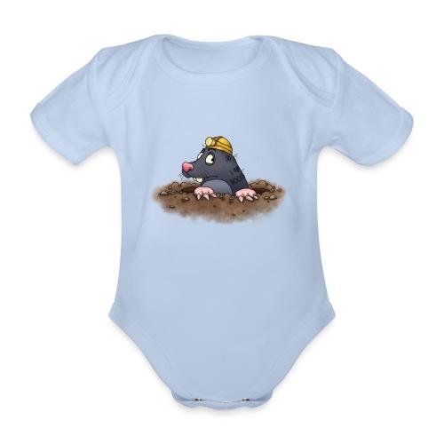 Maulwurf - Baby Bio-Kurzarm-Body