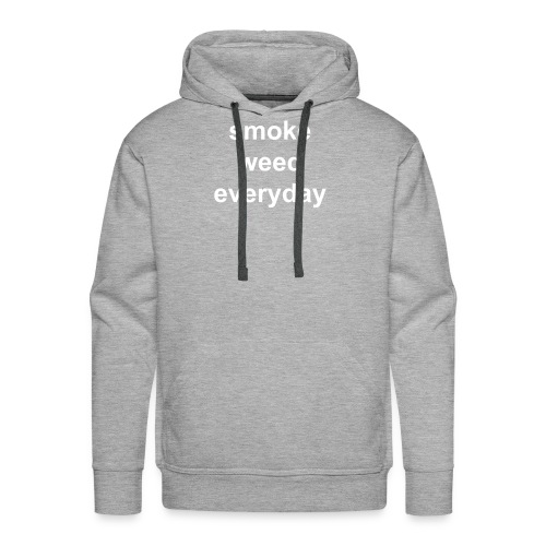 smoke weed evryday - Sweat-shirt à capuche Premium pour hommes