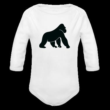 en vild gorilla tröjor babybody 473779bb3c102
