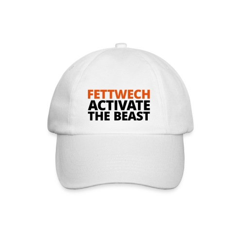 Baseballkappe - Fettwech Activate the Beast Fanshirt. Eine Kappe für den Einsatz während der Freeletics Workouts, sowie Freestyleworkout, CrossFit, Calisthenics, Tabata und anderen Bodyweight und Street Workouts.