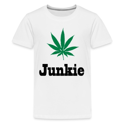 Junkie Teenager Premium T-Shirt - Teenager Premium T-Shirt