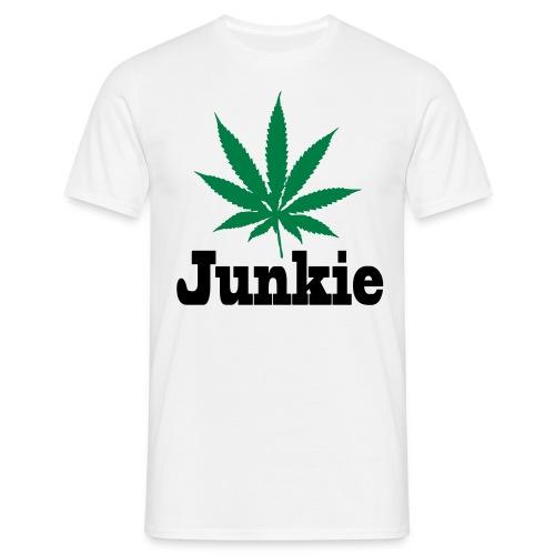 Junkie Männer T-Shirt - Männer T-Shirt