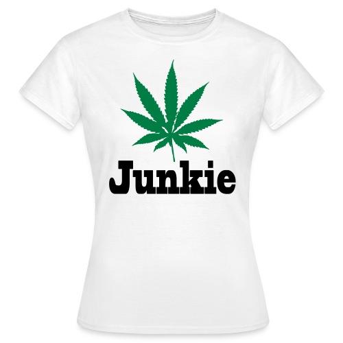 Junkie Frauen T-Shirt - Frauen T-Shirt