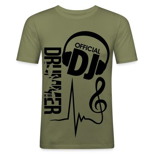 DJ Offical - Männer Slim Fit T-Shirt