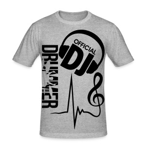 Dj Offical - Männer Slim Fit T-Shirt