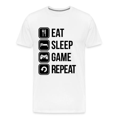 Zocker Männer Premium T-Shirt - Männer Premium T-Shirt