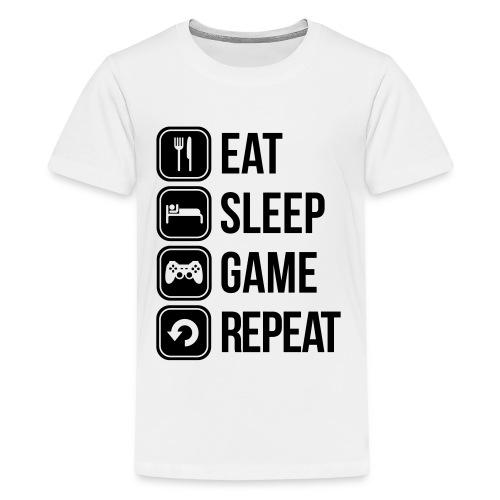 Zocker Teenager Premium T-Shirt - Teenager Premium T-Shirt