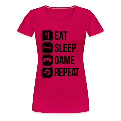 Zocker Frauen Premium T-Shirt - Frauen Premium T-Shirt