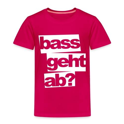 BassGehtAb - Kinder Premium T-Shirt