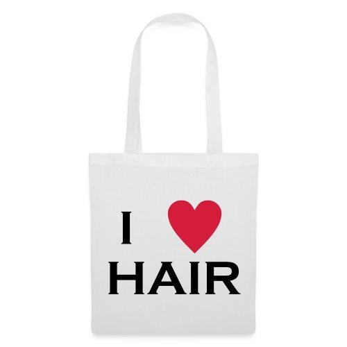 Jute Love Hair - Stoffbeutel