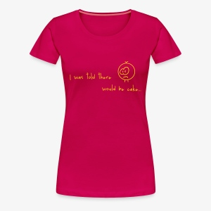 Major Cake Lover Tee :) - Women's Premium T-Shirt