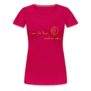 Major Cake Lover Tee :) - Vrouwen Premium T-shirt
