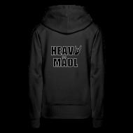Pullover & Hoodies ~ Frauen Premium Kapuzenpullover ~ Heavy Mädl