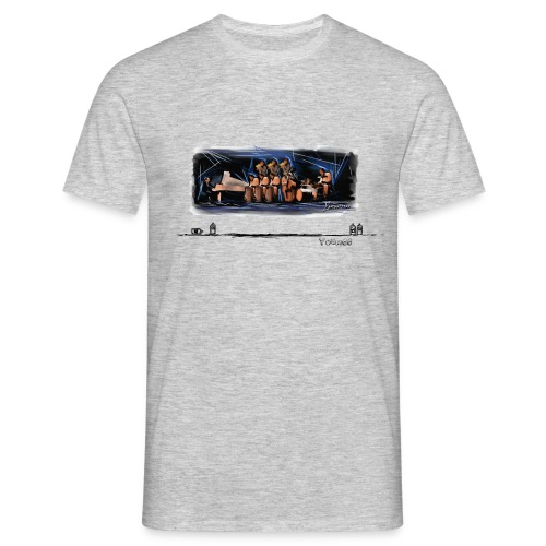 Orquestra salsa tag - Men's T-Shirt