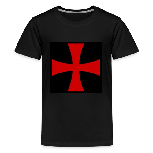 Knights_Templar_Cross - Teenage Premium T-Shirt