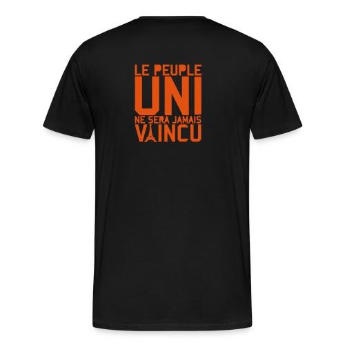 peuple unis - T-shirt Premium Homme