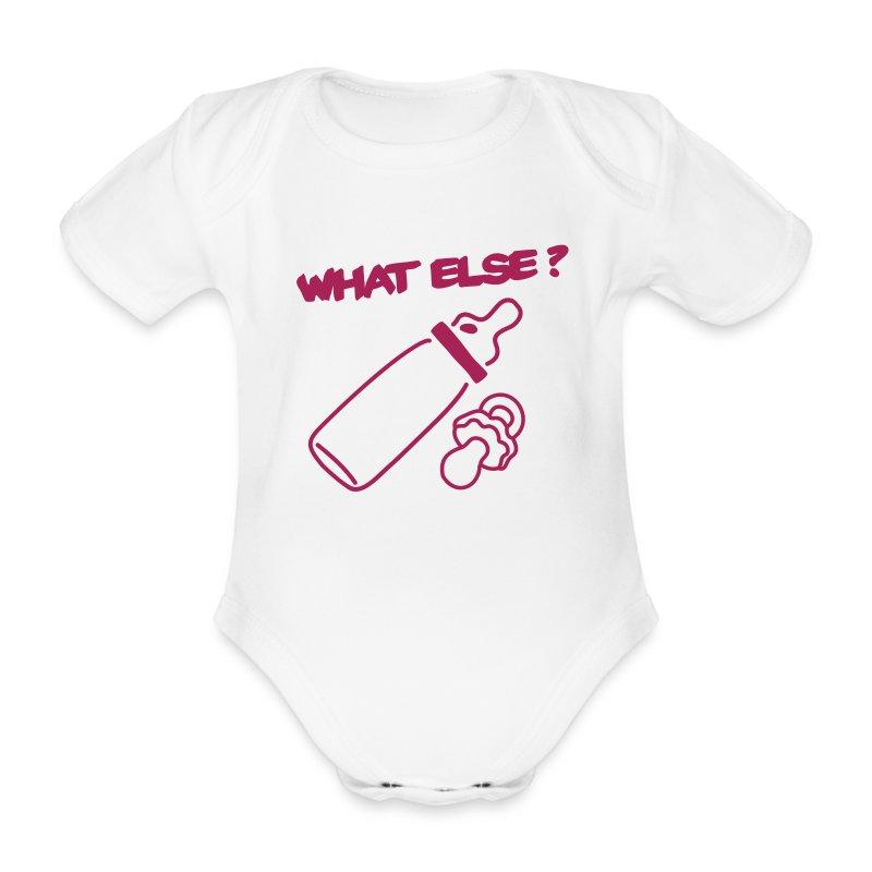 What else ? - Body bébé bio manches courtes