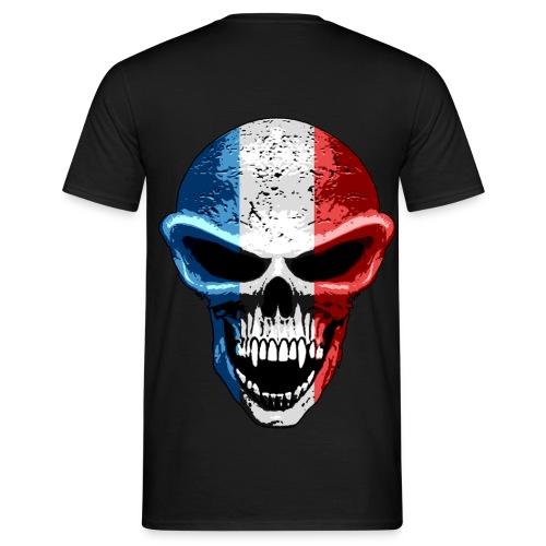 france tete de mort - T-shirt Homme