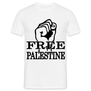 JESUISME: FREEPALESTINA - Mannen T-shirt