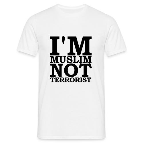 JESUISME: MUSLIM 4 - Mannen T-shirt