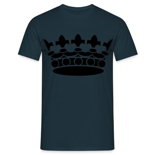 Krone klassisch groß - Herren - Männer T-Shirt