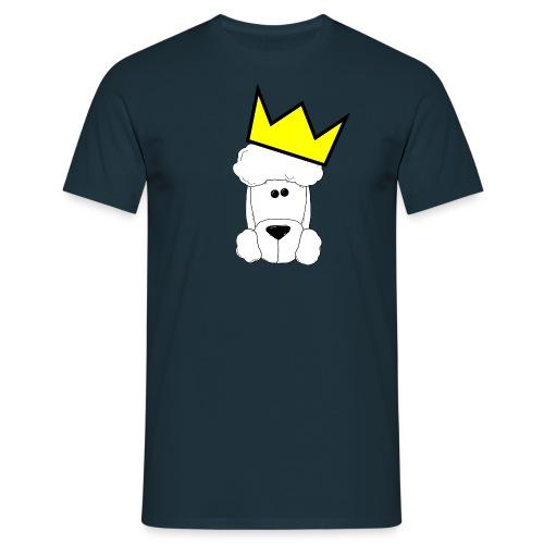 Pudelkönig - Herren - Männer T-Shirt