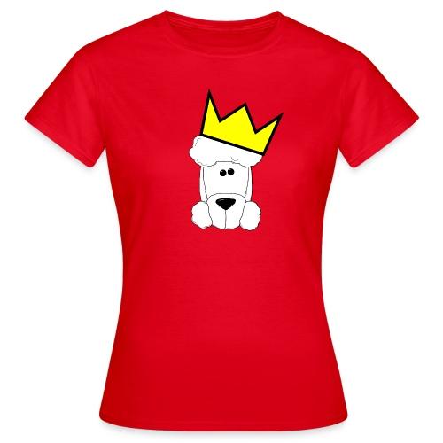 Pudelkönig - Damen - Frauen T-Shirt