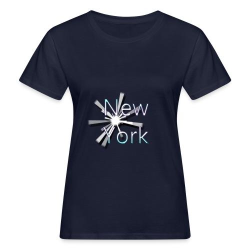 Woman NEW YORK Tshirt - Frauen Bio-T-Shirt