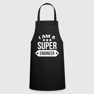 I am a Super Engineer  Grembiuli - Grembiule da cucina