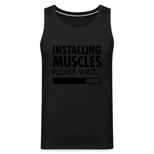 Installing muscles - singlet - Premium singlet for menn
