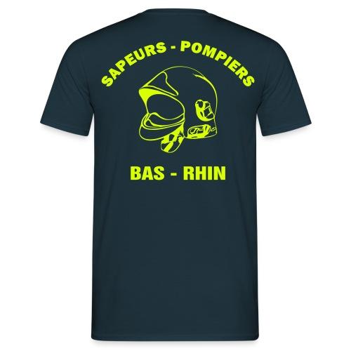 NOUVEAU ! Tee-Shirt SP Bas - Rhin - T-shirt Homme