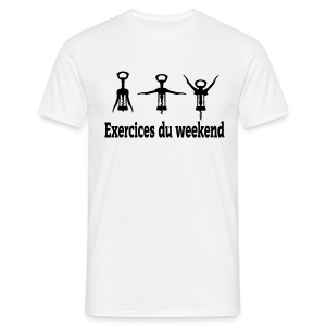 Exercices du week-end - T-shirt Homme