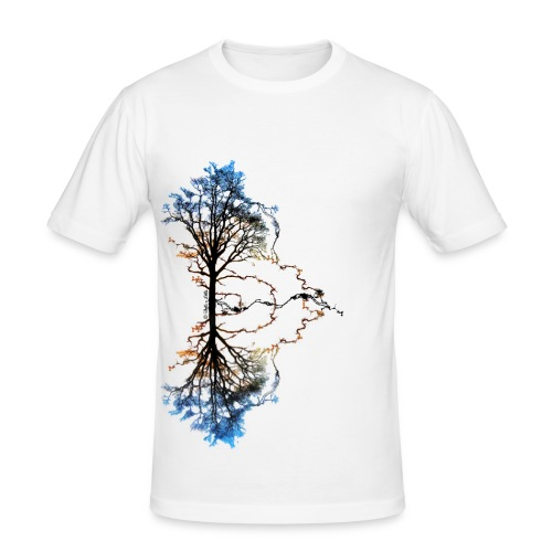Two Trees Homme - T-shirt près du corps Homme