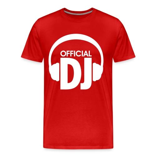 Official DJ - Koszulka męska Premium