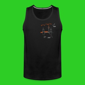 BerlinClubbing, Premium Tank Top men - Männer Premium Tank Top