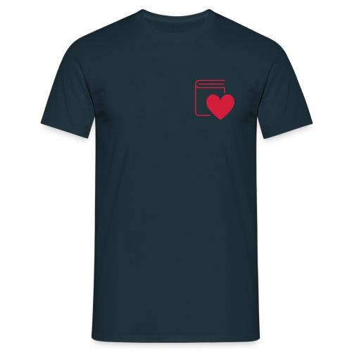 Book Love - Männer T-Shirt - Männer T-Shirt