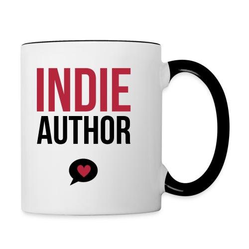 Indie Author - Tasse zweifarbig - Tasse zweifarbig
