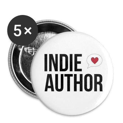 Indie Author - Buttons mittel 32 mm - Buttons mittel 32 mm