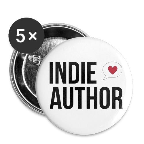 Indie Author - Buttons klein 25 mm - Buttons klein 25 mm