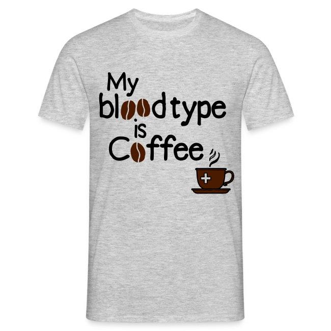 Blutgruppe Kaffee