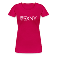 T-Shirts ~ Frauen Premium T-Shirt ~ Saxony   SXNY